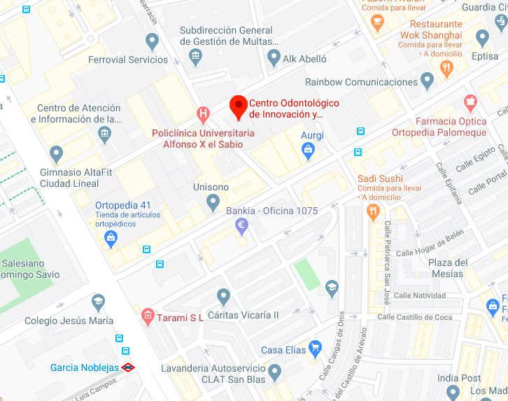 Centro Odontológico de Innovación y Especialidades Avanzadas UAX
